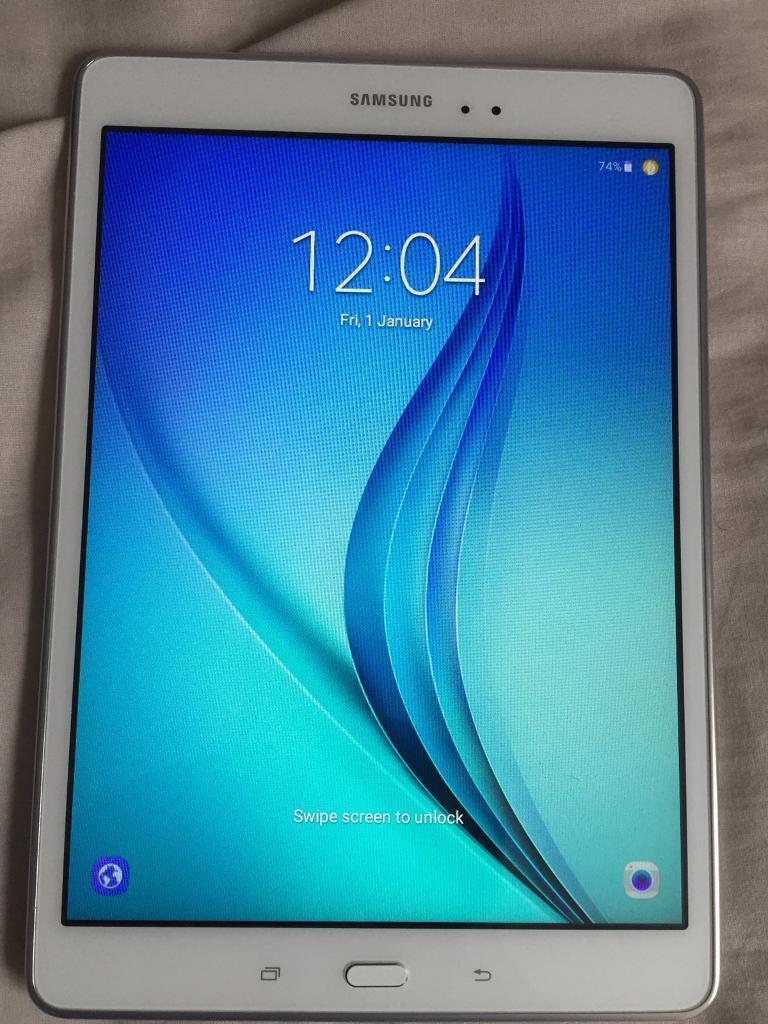 Samsung galaxy tab A 10.0 16gb wifi only white
