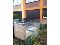 New 3,5ft Aquarium for sale ,Fish tank for sale 100x40x50 cm 200l