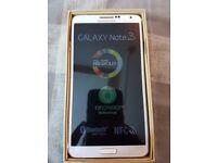 SAMSUNG GALAXY NOTE 3 WHITE/GOLD 32GB UNLOCKED DUAL SIM PHONE