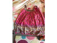 Monsoon dresses aged 4-5 worn twice