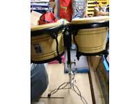 Percussion bongos