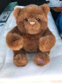 Fur real teddy bear