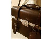 Vintage Camera Hard Carry Case (Leather)