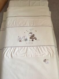 Mamas and Papas Zeddy and Parsnip quilt and pillow case