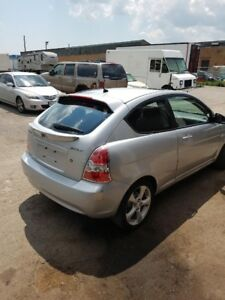 Hyundai Accent 2007 Coupe