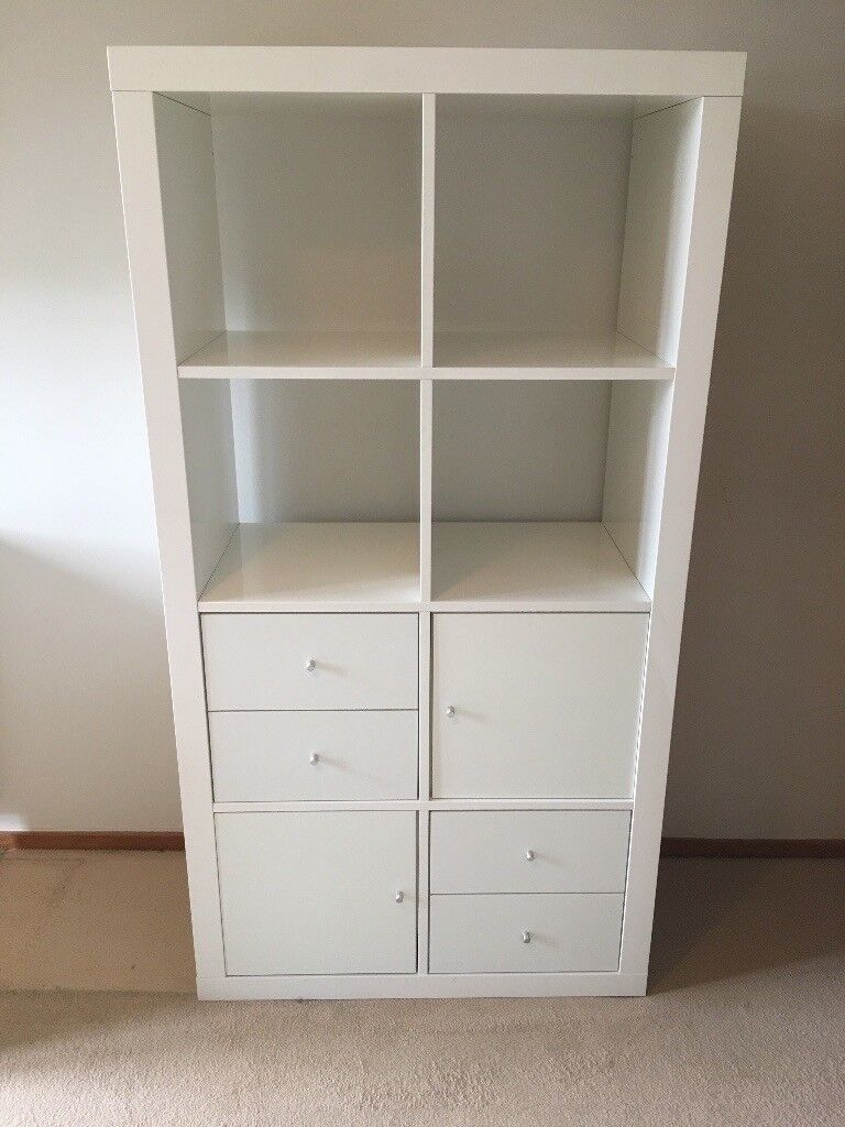 ikea besta storage unit white gloss in grange edinburgh gumtree. Black Bedroom Furniture Sets. Home Design Ideas