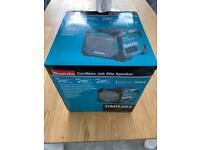 BRAND NEW Makita 18v bluetooth speaker