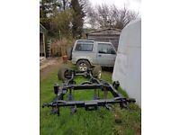 Daihatsu Fourtrak galvanised chassis