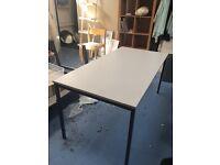 Grey Office Table / Desk
