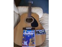 Yamaha Acoustic Guitar plus free accessories