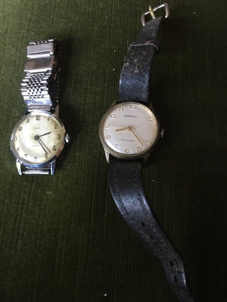 132a60061c3f Old Timex  Ingersoll watches. Hull