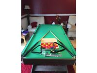 Home/Garage Snooker/Pool table