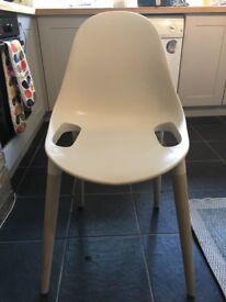 Retro plastic set of 4 chairs