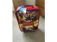 Thomas kids suitcase and backpack