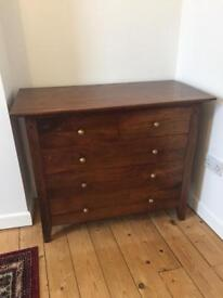Chest of Drawers & Side Table Set
