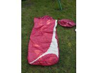 READY BED ADULT SINGLE CAMPING AIR BED Sleeping Bag