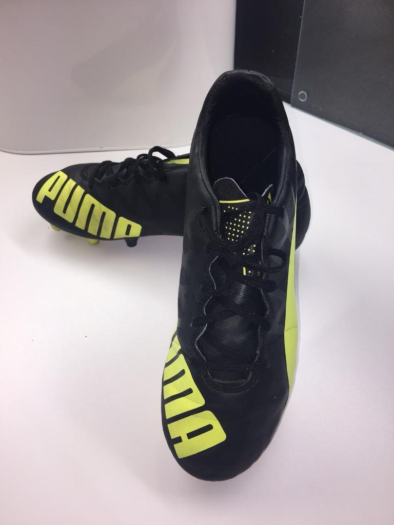 PUMA EVOSPEED FOOTBALL BOOTS SIZE UK 6