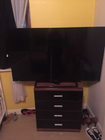 50 inch ; damaged LCD Panasonic tv, spare parts£25