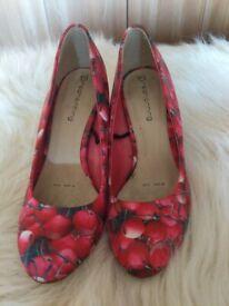 Redherring cherry shoes