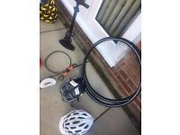 Cycling accessories (job lot)