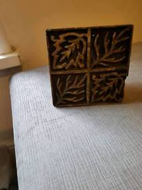 Indian Wooden fabric stamps