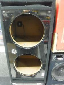 Bassworx 12 Inch  dual Sub Box. We Buy and Sell Used Car Audio Equipment. 116297 CH614437