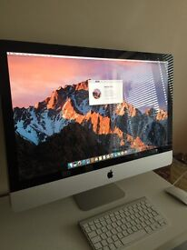 Apple iMac 27 inch - top spec- intel i5, 2.66 GHz, 256 ssd, 16GB for sale
