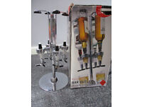 4 bottle rotating bar butler