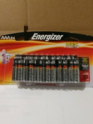 24 count Energizer Max AAA Batteries