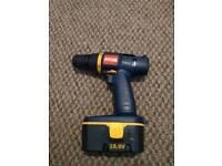 Ryobi cordless 18 volt drill in gwo ryobi one+ compatible