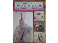 5 Canvas Pictures Sewing Craft Shoes
