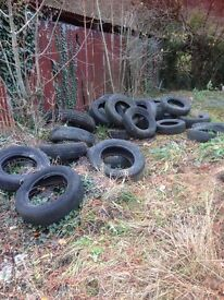 Free Old Tyres - Durley