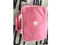 Pink Laptop/Macbook bag & IPad Case/Sleeve