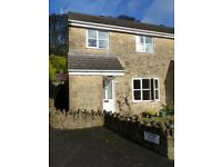 Central, modern, 3 bed, unfurnished end terrace in quiet, sunny location. 2 secure parking spaces.