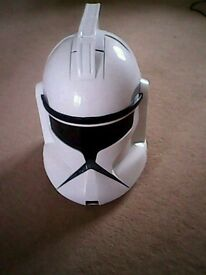 Stormtrooper helmet with noises, mic, adjusts