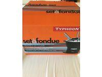 Typhoon Fondue set - NEW