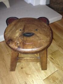 Little Teddy Bear Stool