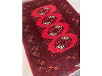 Bokhara Rug - Good condition and quality Size - L 115cm x 80cm