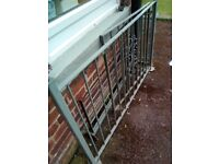 Iron Gate and Railing For Sale