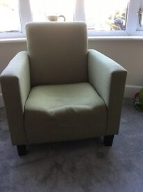 Green feature chair