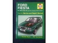 Ford Fiesta Haynes manual open to offers