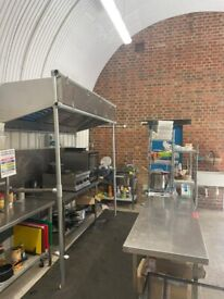 Shared Commercial Kitchen for Hire Prep Kitchen/Catering/Dark Kitchen/Supper Club/Event Space