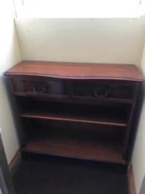 Brown wooden cupboard