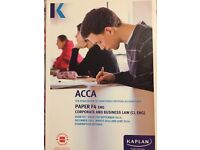 ACCA F4 ENG CORPORATE & BUSINESS LAW - EXAM KIT