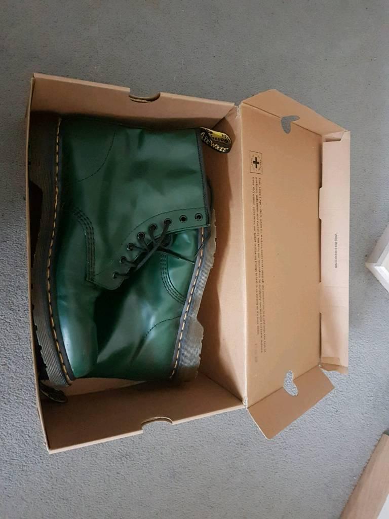 Doc Marten Boots - Size 11 - Green