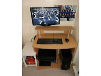 Dell XPS 420.Dual Monitors and Entertainment Centre