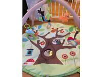Skip hop treetop play mat for babies