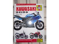 Haynes manual for Kawasaki ER-6f & ER-6n, '06 to '10