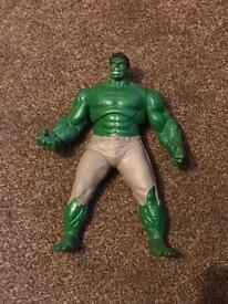 The Incredible Hulk with noises