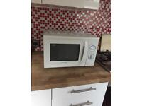 Cookworks white microwave